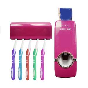All'ingrosso- 2017 Set da bagno di alta qualità Nuovo set di portaspazzolino dispenser automatico di dentifricio