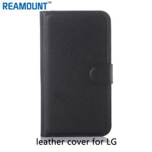 50 جهاز كمبيوتر شخصى محفظة جلدية متعددة الوظائف لحالة LG L90 L90 DUAL موقف تصميم كتاب نمط مع فتحات بطاقة حقيبة جلد