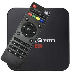 أندرويد 6.0 MXQ برو TV Box رباعي النواة 8G / 1G Amlogic S905X بلوتوث الذكية صندوق التلفزيون سوبورت 3D WIFI SD بطاقة