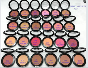 Free Shipping! NEW SHEERTONE BLUSH FARD A JOUES 6G 24 Colors (12pcs lot)
