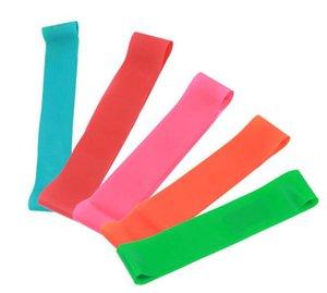 حلقات اليوجا lady fitness stress bands slim leg stret bands rope Pilates ring resistance loop strengths yoga circles