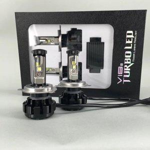 Le lumen XHP50 de haute qualité de V18 U2 H4 50w 5000 a mené des ampoules de phare, lentille automatique de phare H4