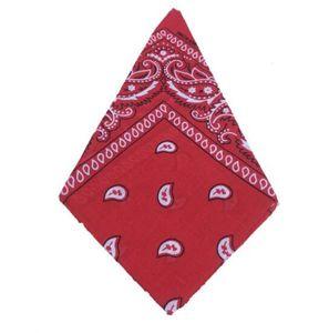 100% COTTON Bandana Headband Paisley Design Novelty Cycling Magic Anti-UV Scarf Hip Hop Multifunctional Wristband Headscarf Accessories