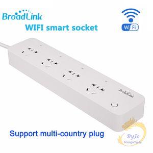 BroadLink MP1 مأخذ الطاقة الذكية قطاع التحكم بشكل منفصل وأي فأي مأخذ الطاقة الذكية 4-مأخذ الطاقة للأتمتة الذكية