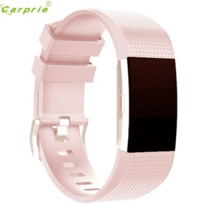 Hot-venda CARPRIE Relógio Inteligente Relógio Bandas Inteligentes Relógio dos homens Relógio Esportivo Pulseira de Silicone Pulseira Banda Para Fitbit Charge 2
