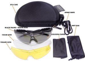 Nuevo SI Bal M Frame 2.0 Tactical Goggles Deportes al aire libre Tiro a prueba de viento US Army Military Sunglasses Men Oculos De Sol