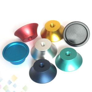 Soporte para atomizador colorido Soporte de la base de metal para exhibición de cigarrillos electrónicos con 510 roscas Screw Fit 510 RDA RTA DHL Free
