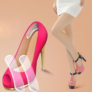 New Fashion palmilhas para sapatos Gel de silicone protetor Heel Cushion Shoe Inserir Pad Palmilha navio da gota