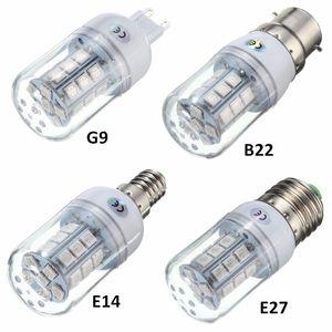 27 LED Ampul E27 E14 G9 B22 2.5 W 5050 SMD Lamba LED Işık Olmayan Dim 200 Lümen PC Plastik Kırmızı / Yeşil / Mavi Aydınlatma AC110V / 220 V