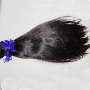 Hetero massa blabla Beijo Weave Virgin brasileiro do cabelo humano para trança Crochet ofertas 3 feixes pode ser enrolado 8A