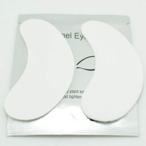 Atacado New 50 pairs Lint Free Under Eye Patch Pads para Extensões de Pestana Gel Remendos Finos Frete grátis