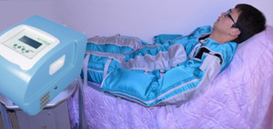 Luftdruck-Pressotherapie-Lymphdrainagegerät mit 24 Airbags für Ganzkörpermassage