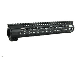 새로운 디자인 AR-15 / M16 KeyMod 10 인치 시리즈 원피스 프리 플로트 핸드 가드