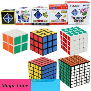 SHENGSHOU Cubo Mágico Profesional Puzzle Square Cube Stickerless Cube Juego Mágico Educativo Neo Velocidad Juguetes Para Niños