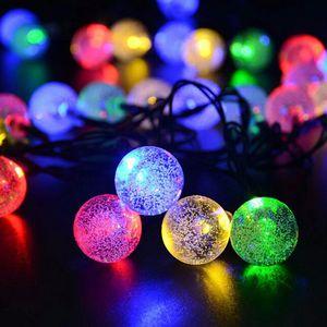 30 LEDs Lichter Party Weihnachten Solar LED Weihnachtsbeleuchtung LED Saiten Licht Lampe Solarstring Zwiebeln Wasserdicht 6,5m