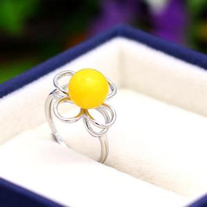 4-9mm Perle Semi Mount Engagement Hochzeit 925 Sterling Silber vergoldet Goldring Fine Silver Schmuck Einstellung