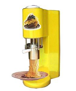 2021 جديد السباغيتي آلة الآيس كريم الأصفر / الأبيض / الأحمر / البنفسجي المستخدمة لالتقاط الوجبات الخفيفة ومحلات الأغذية الباردة سهلة الاستخدام