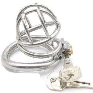 Chastity Device Мужчины Chastity Cage Cage Разведка Секс Приборы Penis Metal Кольцевое кольцо с продуктами для клетки G170 DCHDI