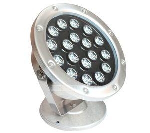 La lumière sous-marine de projecteurs sous-marins de piscine de 12W 15W 18W 24W LED allumant le paysage imperméabilisent l'acier inoxydable IP68 AC12V / 24V