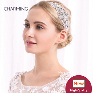 Kristallhaarspangen des elastischen Stirnbandes brüstet Haarzusätze besten Großverkaufproduktchina-Markt online freies Verschiffen
