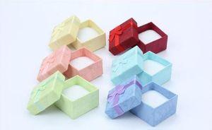 Nube 4 * 4 cielo y tierra cubierta anillo caja pendiente pequeña caja de embalaje joyería joyería embalaje caja de embalaje