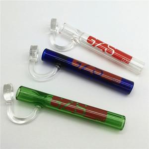 핸드 워터 파이프 Steamrollers 연구소 고품질의 흡연 파이프 멀티 컬러 유리 핸드 파이프 오일 버너 물 담뱃대 미니 흡연 막대 봉