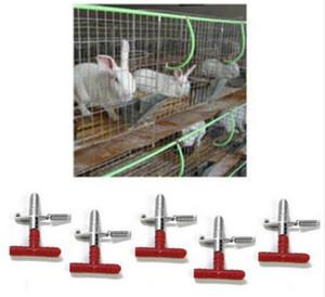 Conejo Nipple Bebedero de agua Waterer Alimentador de aves de corral Bunny Rodent Mouse