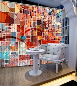Beautiful Photo colorful custom curtain fashion decor home decoration for bedroom