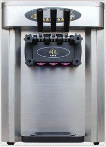 25 L / H comercial máquina de sorvetes de sorvetes macios três sabor soft ice cream máquina modelo de mesa frete grátis 110 v / 220 v