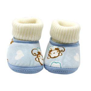Autunno Inverno neonati Baby Shoes stivali caldi pelliccia di lana bottini caviglia della neve Primi camminatori Stivali Scarpe in pile