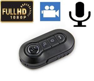 HD 1080P 12MP مفتاح السيارة ثقب الكاميرا T4000 الأشعة تحت الحمراء للرؤية الليلية سيارة صغيرة كاميرا فيديو مع كشف الحركة البسيطة DV DVR الأسود