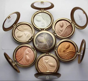 Free Shipping ! hot New Makeup Face Holiday Powder Bronzer Extra Dimension Skinfinish Face Powder!12 Different Colors(6Pcs Lot).