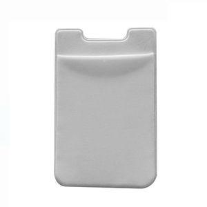 Macio Sock Carteira Cartão de Crédito Dinheiro do bolso etiqueta adesiva Titular Organizador Dinheiro Bolsa Mobile Phone 3M Gadgets