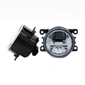 Para Ford C-Max / Fusão 2013-2014 Para Ford Focus 2 pcs Car Styling Rodada Amortecedor Dianteiro LEVOU Luzes de Nevoeiro DRL Daytime Running Driving nevoeiro lâmpadas