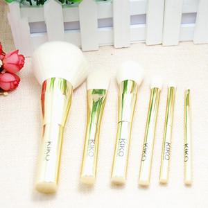 La migliore qualità KIKO pennelli trucco set 6 pezzi = 1 set trucco marche pennelli Tech concealer Pennello fondotinta make up