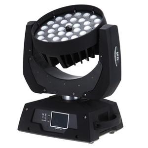 Livraison gratuite Chine Cheap RGBWA 5 en 1 Zoom 36 * 15 W DMX LED Tête Lavante Lumière de Lavage