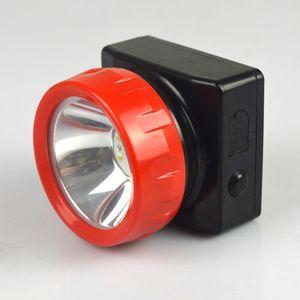 60pcs / lot LD-4625 Batterie au lithium rechargeable LED Miner Phare Lampe de pêche à la lumière Chasse Phare Livraison gratuite
