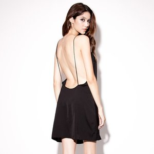 Sexy pajamas are seduced by strapless sleeve-wearing strapless dress girl trend ultra-th