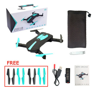 JY018 Mini Drone With WiFi FPV Camera Foldable RC Pocket Drone BNF G-Sensor Mode Air Press Altitude Hold