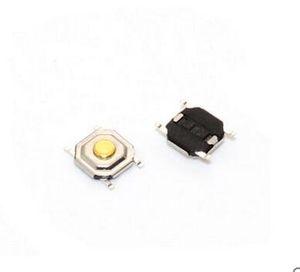 SMD 4 * 4 * 1.5mm 4x4x1.5mm Dokunsal İnceliğini Düğme Mikro Anahtarı Anlık