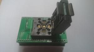 Enplas IC TEST SOKET QFN-48 (52), BT-0,4-01 QFP48PIN 0.4mm perdesinde soket ile PCB bordu QFP48 DIP 48 YANIK.