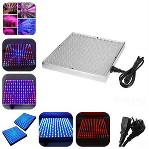 Lámpara LED Planta 14W 225 Grow Panel de luz Lámpara hidropónica AC85-265V 165 Red 60 Blue IP65 para plantas de interior de cultivo Crecimiento vegetal