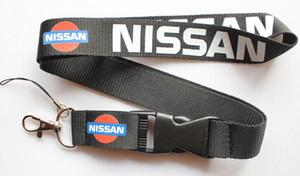 Wholesale 10 pcs Popular NISSAN logotipo do carro de Telefone Celular Colhedor Removível Chaveiros Emblema Pingente Presente Do Partido Favores C-045