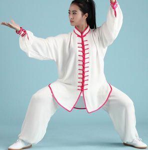 Jiajia pamuk tai chi hizmet ilkbahar ve sonbahar 13 kesinti dövüş sanatları performans giyim tai chi uygulama üniforma suit
