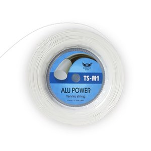 New Quality Alu Power Big Banger Tennis String,660FT,1.25MM,White color,Same High Quality as Famous Brand