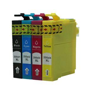 Güzel kalite Uyumlu Mürekkep Kartuşu T2001, T2002, T2003, T2004 için Epson XP-200/300/400 WF-2530/2520/2540 Yazıcı