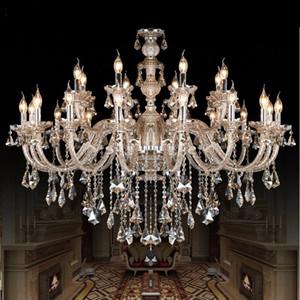 Kristal Avize Lamba Moda Modern Işık Mum Ev Aydınlatma Yatak Odası Salon