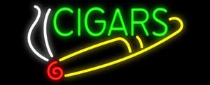 Cigares Fumée Chef Boutiques Cigar Cigarette Store Pratique Néon Signe Fait À La Main Personnalisé Verre Verre Motel Affichage Néon Signes 17''X8 ''