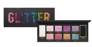 Dropshipping 새로운 eyeshadow palett 메이크업 GLITTER BOMB Professional 10color Shimmer 매트 뷰티 메이크업 아이 섀도우 다이아몬드 빛나는
