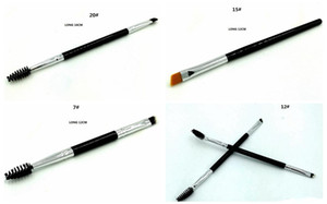 New style, easy to use, easy to put on makeup HOT Makeup Brush double eyebrow brush head brush DHL Free shipping+GIFT